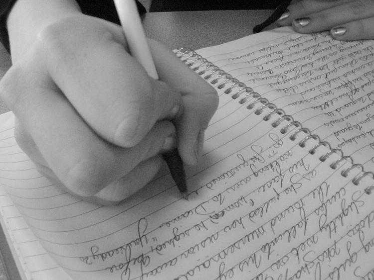 writing750