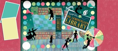 Mr. Lemoncello Book Jacket