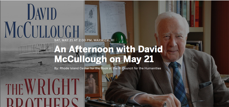 An Afternoon With David McCullough Registration
